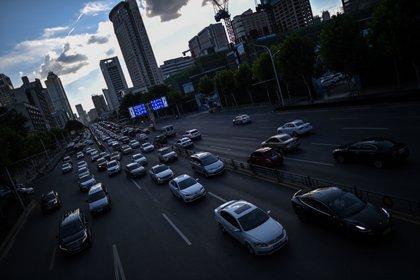 El tránsito volvió a ser intenso en el centro de la ciudad