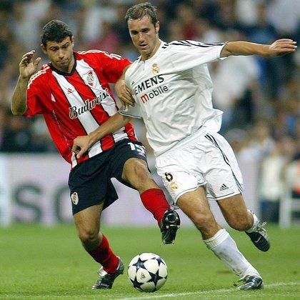 Iván Helguera jugó en el Real Madrid entre 1999 y 2007 (AFP)
