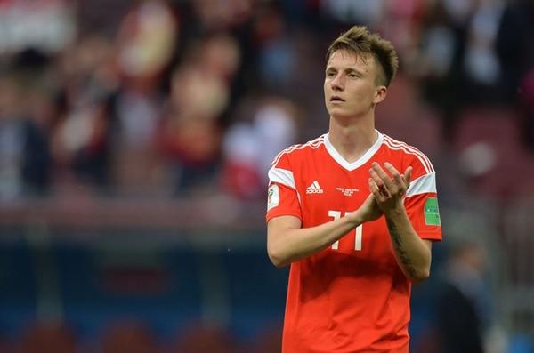 Aleksandr Golovin ha fichado por el AS Mónaco tras dejar buenas sensaciones en el Mundial (EFE)