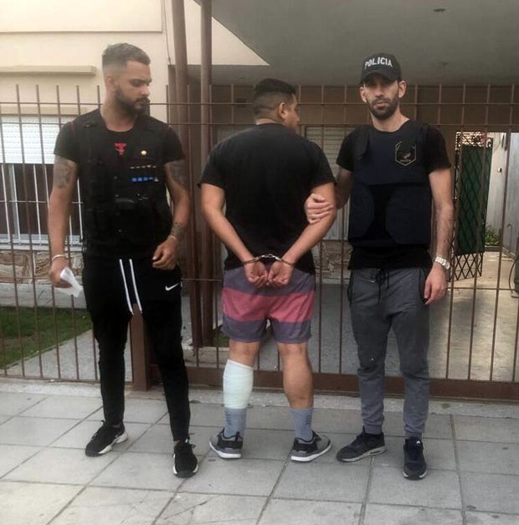 Villalba tras ser recapturado