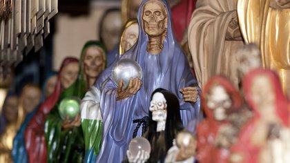 El culto a la Santa Muerto empezó a ser popular a principios de siglo. (Foto: Santa Muerte.org
