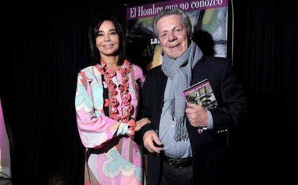 Emilio Disi, en la presentación del libro de Laura