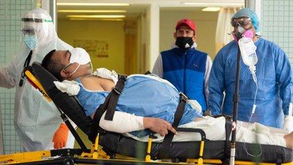 """Andrés Manuel López Obrador (AMLO) dijo en conferencia que anteriormente, en lo que llamó """"el periodo neoliberal"""", los trabajadores de salud solo buscaban enriquecerse (Foto: Cuartoscuro)"""