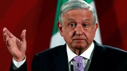 Foto de archivo. El presidente de México Andrés Manuel López Obrador en una conferencia de prensa en el Palacio Nacional en Ciudad de México. 18 de febrero de  2020. REUTERS/Henry Romero