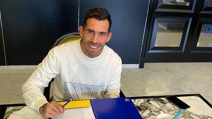 Tevez firmó contrato con Boca hasta mediados de 2021: cuenta con cláusula para rescindir y opción para renovar