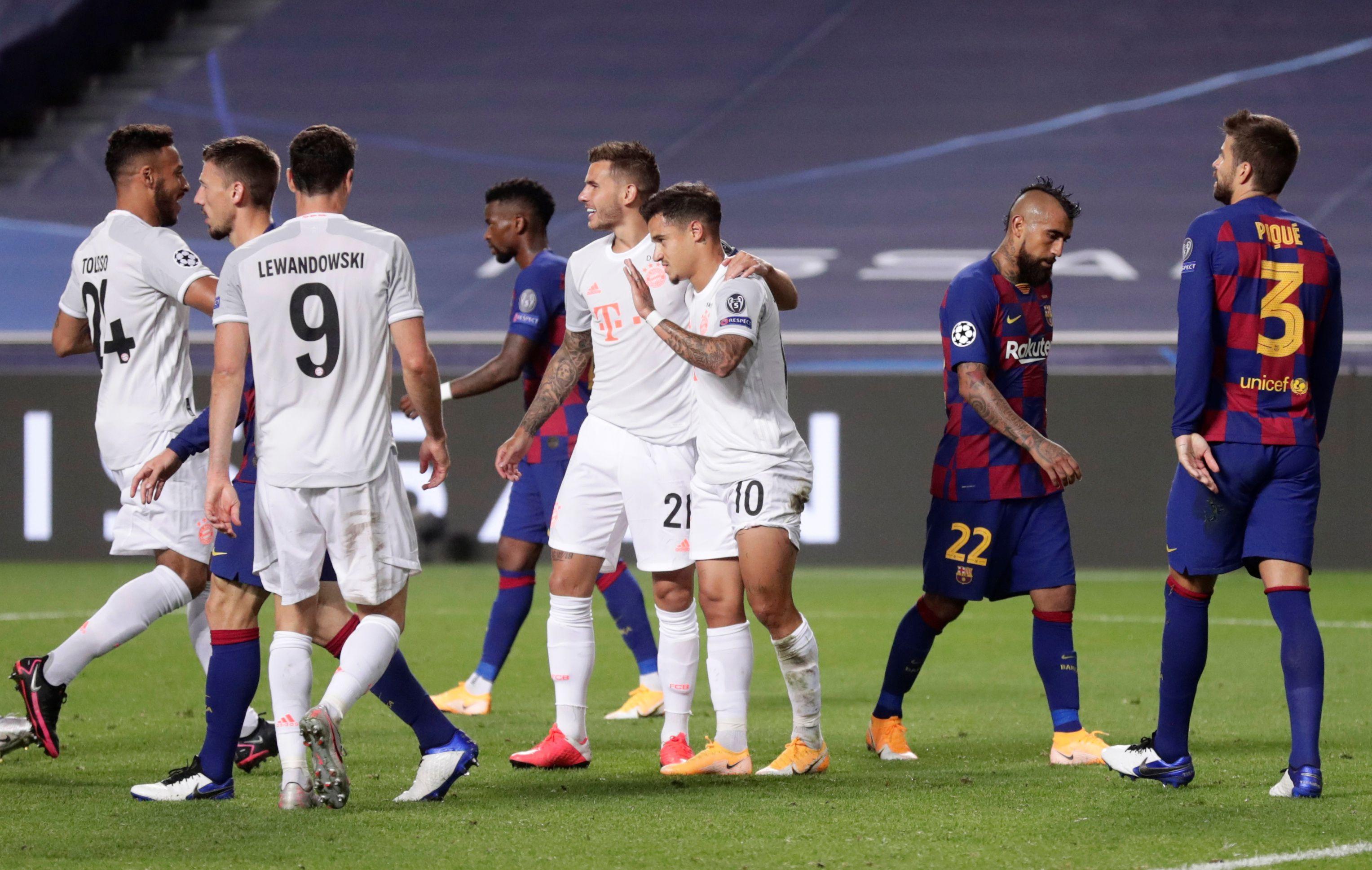 Barcelona sufrió una de las derrotas más duras de su historia (Manu Fernandez/Pool via REUTERS)