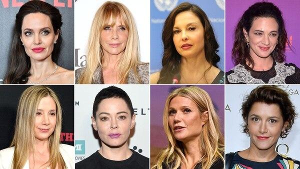 Decenas de actrices de Hollywood denunciaron abusos de Harvey Weinstein