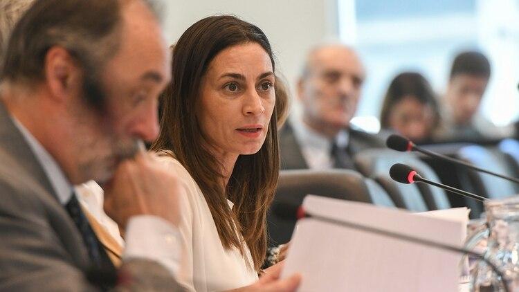 Carla Pitiot, del massismo a los equipos técnicos del Frente de Todos (Télam)