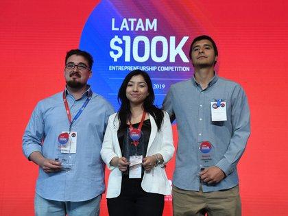 En la categoría Pitch (Ideas) reconoció el proyecto de Photio, al equipo conformado por Jaime Rovegno, Constanza Escobar y Matías Moya, todos de Chile