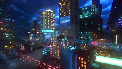 Cloudpunk se lanzó en consolas el 15 de octubre de 2020 (Foto: ION Lands)