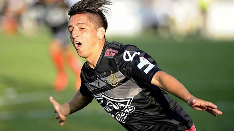 Su gol más gritado, según el propio Manso, fue contra Dálmine en 2014, cuando logró el ascenso con Chacarita.