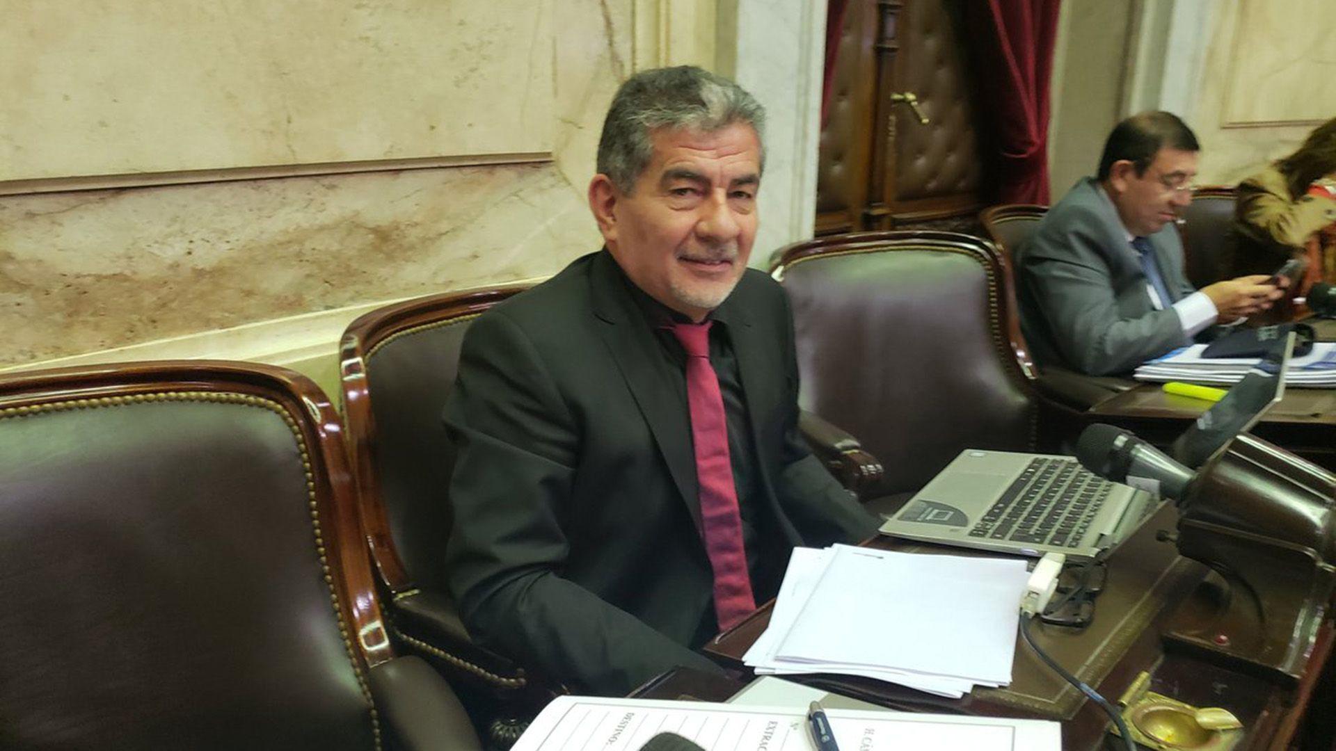 Jorge Taboada, ex diputado y titular del Sindicato de Camioneros de Chubut