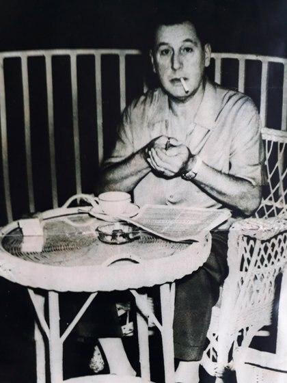 Entre 1956 y 1958 Perón vivió en Caracas, Venezuela. Gobernaba el dictador Marcos Pérez Jiménez