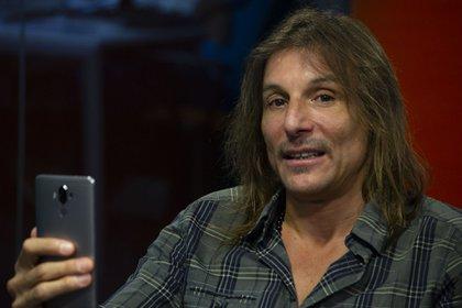 El ex jugador de fútbol Claudio Paul Caniggia en una entrevista en Infobae (Damián Rodríguez)