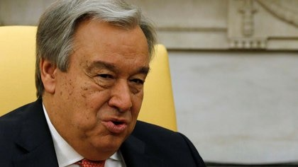 Antonio Guterres, secretario general de la ONU (REUTERS)