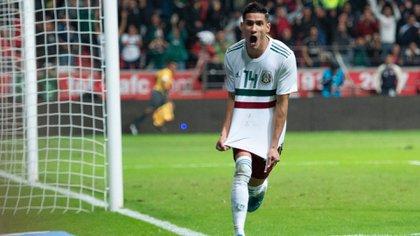 Antuna marcó el gol del triunfo (Foto: Twitter @miseleccionmx)