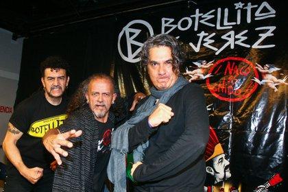 Fue fundador de la emblemática banda de rock Botellita de Jerez (Foto:cuartoscuro.com)