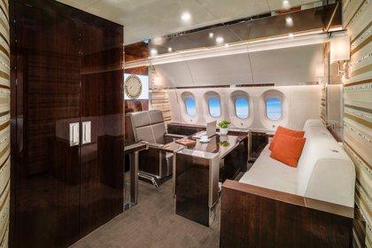Viajes de Gutiérrez Müller revivieron la polémica de los costosos lujos de Peña Nieto en el avión presidencial (Foto: Cortesía Presidencia)