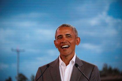 En la imagen, el expresidente estadounidense Barack Obama (2009-2017). EFE/Dai Kurokawa/Archivo