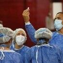 Vacunación contra la enfermedad del coronavirus (COVID-19). Buenos Aires. Argentina. Foto de archivo Feb 3, 2021. REUTERS/Matias Baglietto