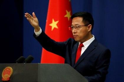 Zhao Lijian, vocero del Ministerio de Relaciones Exteriores de China (REUTERS / Archivo)