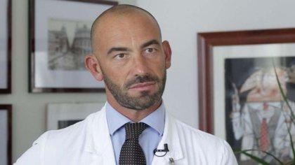 Matteo Bassetti, jefe de enfermedades infecciosas del Hospital General de San Martino en Génova