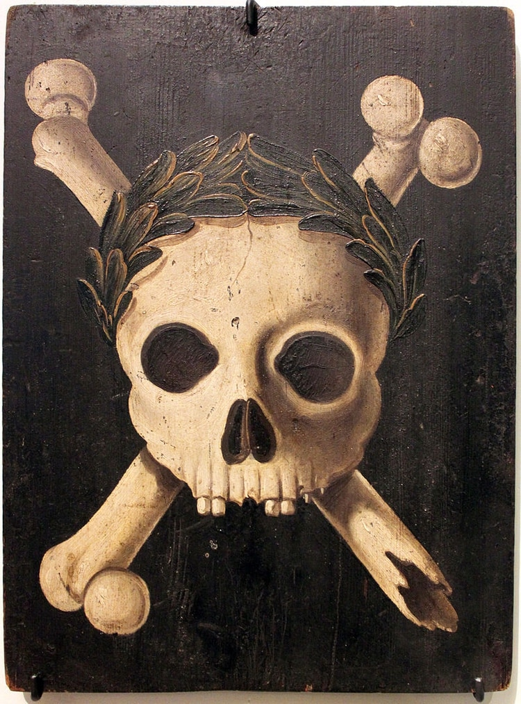 Representación de la Peste Negra hacha en Alemania (Wikipedia)