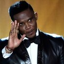 (FILES) In this file photo taken on January 11, 2016 Cameroon and Antalyaspor forward Samuel Eto'o waves during the 2015 FIFA Ballon d'Or award ceremony at the Kongresshaus in Zurich. - Cameroon's four-time African Player of the Year Samuel Eto'o announced his retirement on September 7, 2019 at the age of 38, declaring