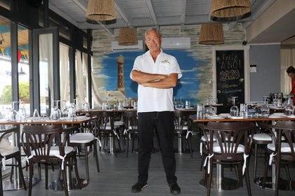 El chef veneciano Alessandro Tridenti, la gran estrella del restaurante