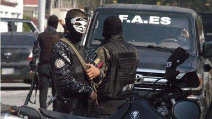 Las FAES son uno de los brazos armados de la dictadura de Nicolás Maduro