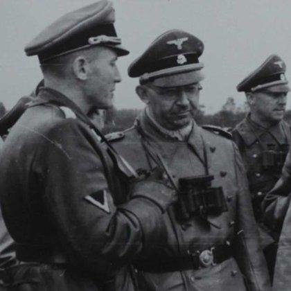 Otto Gustav von Wächter junto a Heinrich Himmler (Horst Wachter)