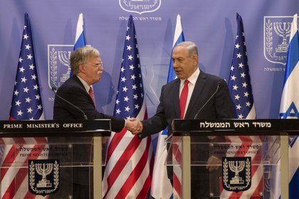 EEUU e Israel refuerzan su alianza ante las tensiones regionales (AP Photo/Tsafrir Abayov, Pool)