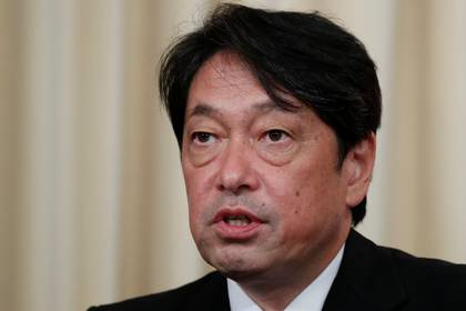 El ministro de Defensa japonés Itsunori Onodera (REUTERS/Maxim Shemetov)