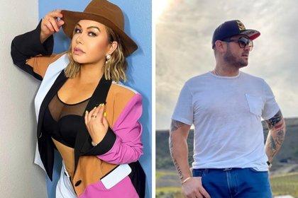 La cantante y el empresario se conocen desde hace cuatro años aunque dejaron de verse hace un tiempo (Foto: Instagram de Chiquis Rivera y Mr Tempo)