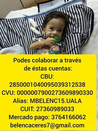 Maximo Salvador necesita la ayuda de todos