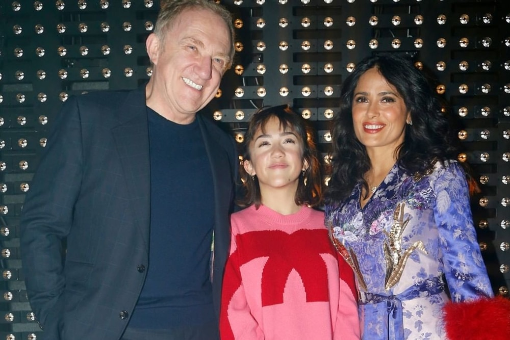 Daughter of Salma Hayek is one of the six richest children in the world thumbnail