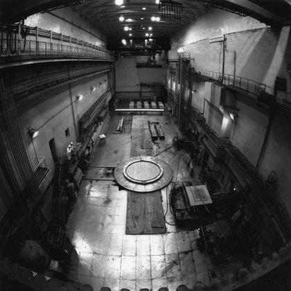 Obras de modernización del reactor LF-2 en Mayak en 2012 (www.po-mayak.ru)