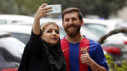 """Reza Parastesh, el """"Lionel Messi iraní"""" (AFP)"""