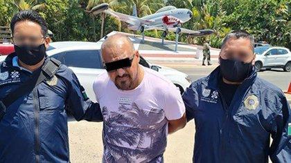 El presunto criminal será enviado al Reclusorio Oriente (Foto: Twitter@OHarfuch)