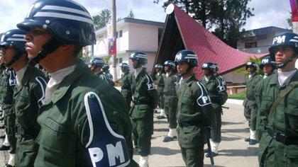 La Policía Militar siempre se destacó por ser una Brigada con prestigio