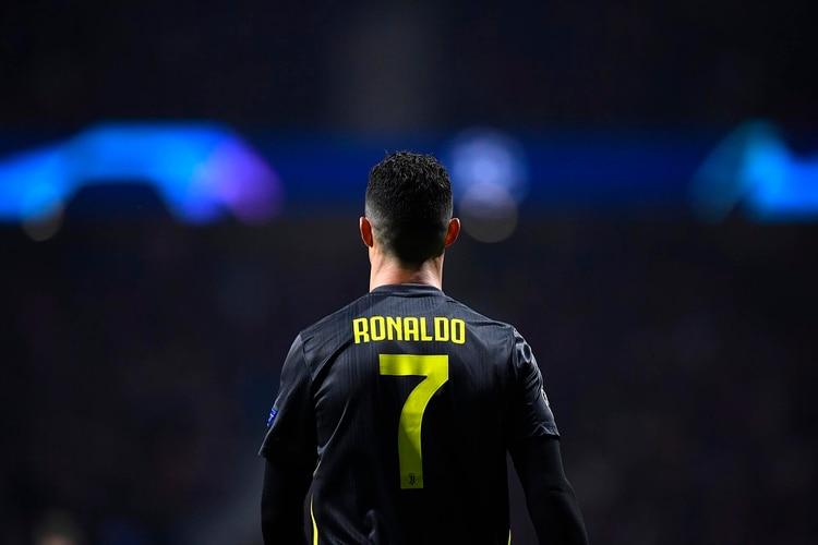 Cristiano Ronaldo tuvo un cruce adicional con los simpatizantes del  Atlético Madrid (AFP) b9c2c7414fe72