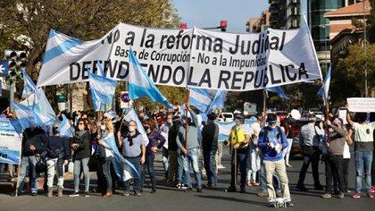 Córdoba fue una de las provincias donde más gente se congregó para manifestarse contra el gobierno nacional (Mario Sar)