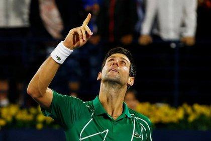 Novak Djokovic busca ayudar al resto de los tenistas (REUTERS/Thaier Al-Sudani)