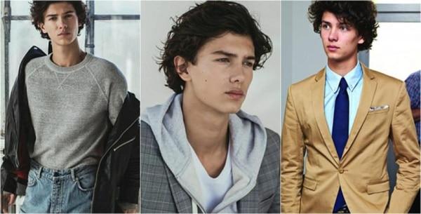 Nikolai William Alexander Frederik. La Semana de la Moda en Londres dejó ver al joven príncipe de Dinamarca emprender su carrera como modelo