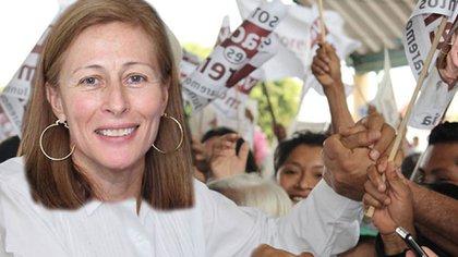 Tatiana Clouthier, quien ganó relevancia durante la campaña.