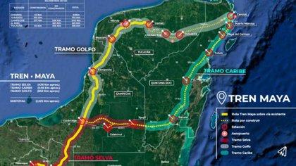 Tren Maya viola la libre asociación sindical (Foto: Archivo)