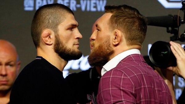 Nurmagomedov y McGregor animarán la trasnoche del sábado (Reuters)