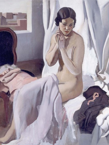 """""""Desnudo"""" (1925) de Roberto Fernández Balbuena (Museo Reina Sofía)"""