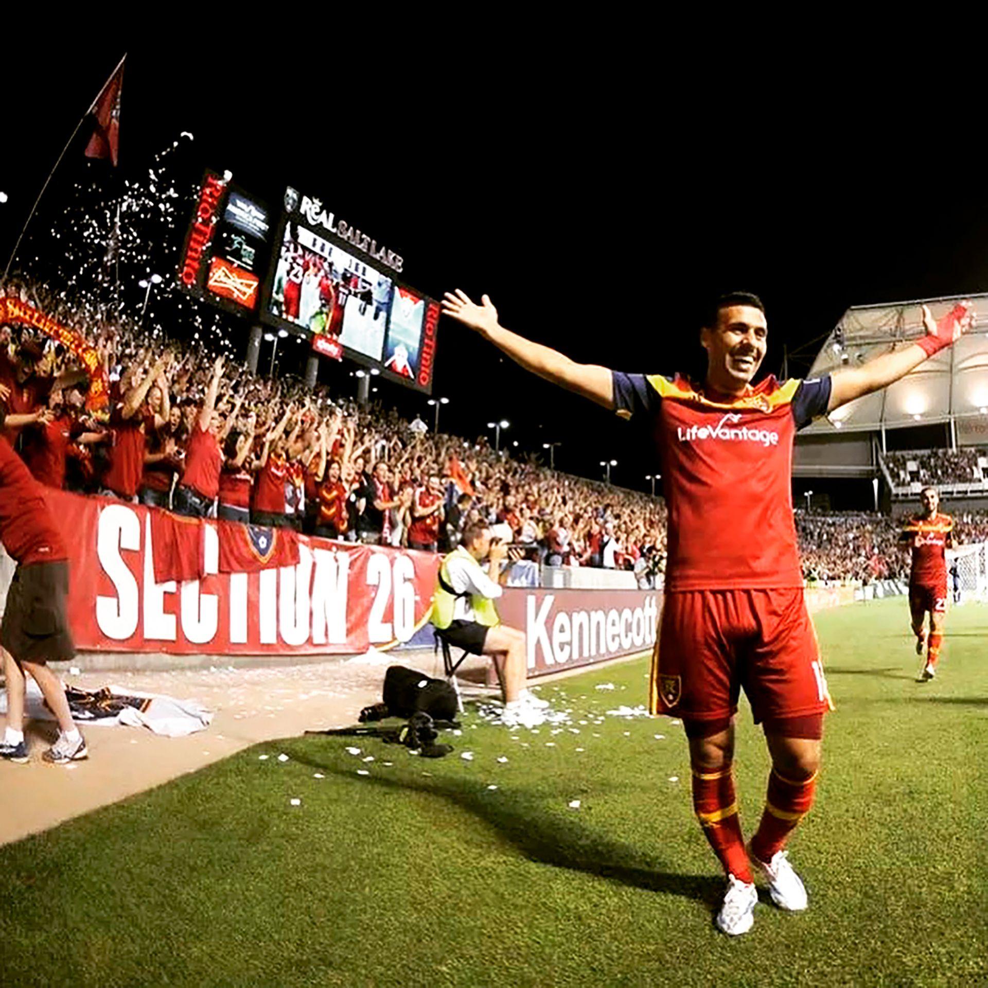 Javier Morales brilló en la MLS como futbolista (@javim1)