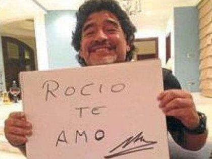 La foto con la que Diego confirmó su romance con Oliva